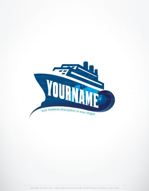 Boat Name Graphic Design