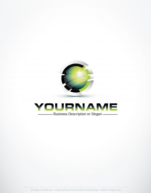 3d high tech logo free business card 3d high tech logo reheart Image collections