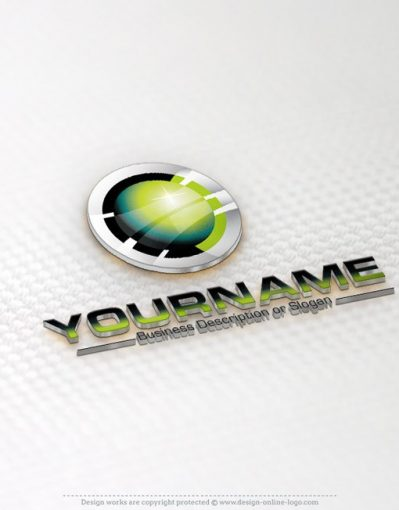 3D High Tech Logo