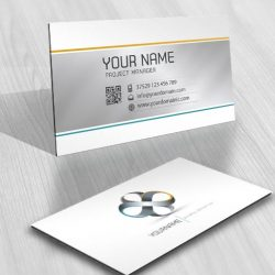 infinite endless Logo design businesscard