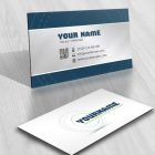Ready made Artistic Logo design with abstract Lines business card
