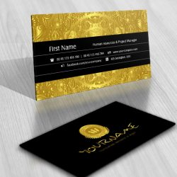 Gold coin logo design for sale business-card