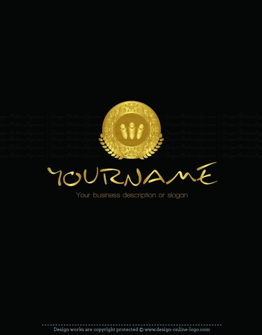 Exclusive Design: Gold coin Logo + Compatible FREE ...