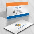 3D Cubes Logo Compatible FREE Business Card