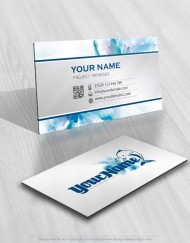 Ready made Dolphin and sea waves Logo Design