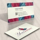 logo business card Butterfly