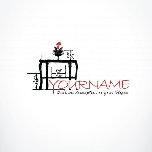 Ready made Logo designed with Illustrated Table
