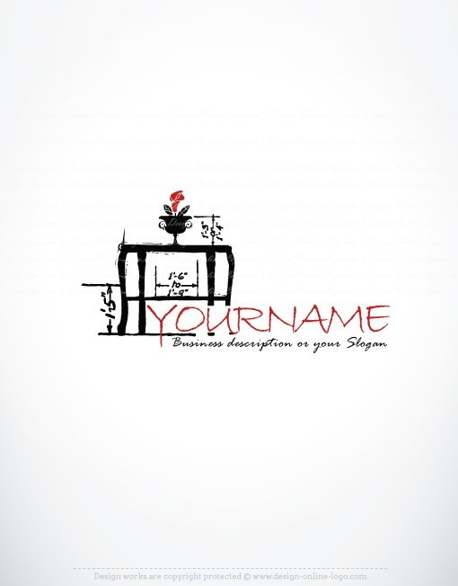 exclusive design table sketch logo compatible free business card create a logo with design