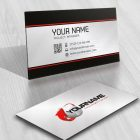 business-card 3D Logo design that combines Globe and 3D arrow icon