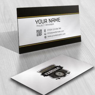 Ready made Logo design Auto Tire wheel business card