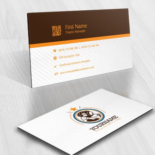 Ready made Beer logo design business card
