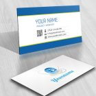 business card High tech Logo design Internet Web