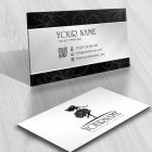Exclusive Design Woman Flower Logo FREE Business Card
