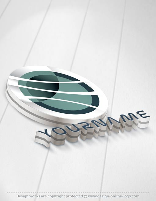 3D Tech Logo + Compatible FREE Business Card