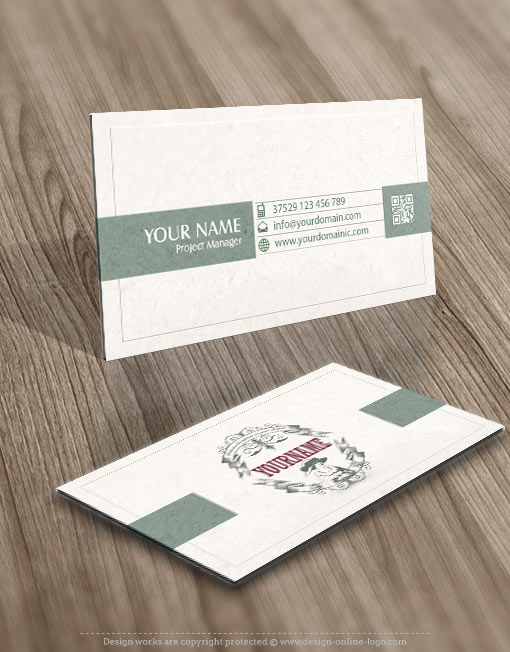 Vintage woman log business card logo design female woman vintage retro frame reheart Gallery