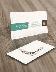 Exclusive Design: Woman Fashion Logo + Compatible FREE Business Card