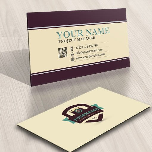 Exclusive Design: Photographer Logo + Compatible FREE Business Card