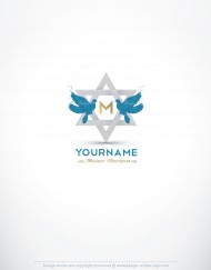Exclusive Logo Design Star of David FREE Business Card