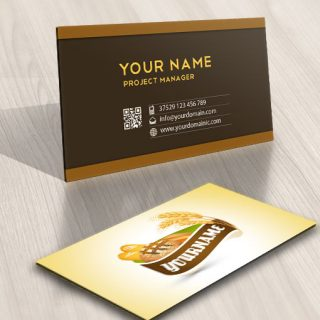 Ready made Logo template designed for a bakery