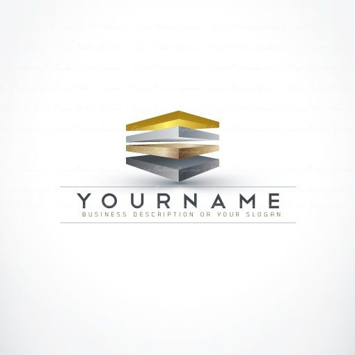 Ready made Logo design online 3d cube