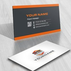 online Logo design free Industrial business card