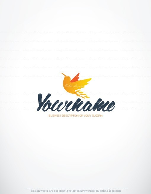 Honey Bird online logo design for sale