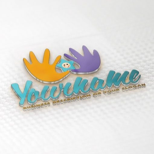 Exclusive Baby Store Logo Design FREE Business Card