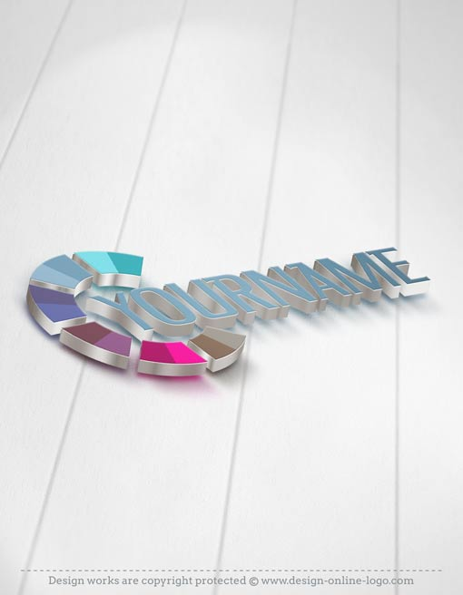 Exclusive3D online Abstract Logo Design FREE Business Card