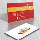 Exclusive Design: Kids Birthday Logo FREE Business Card