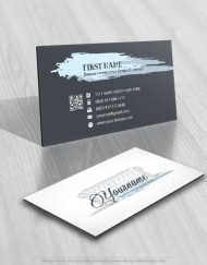 Exclusive Design: Interior furniture Logo + Compatible FREE Business Card