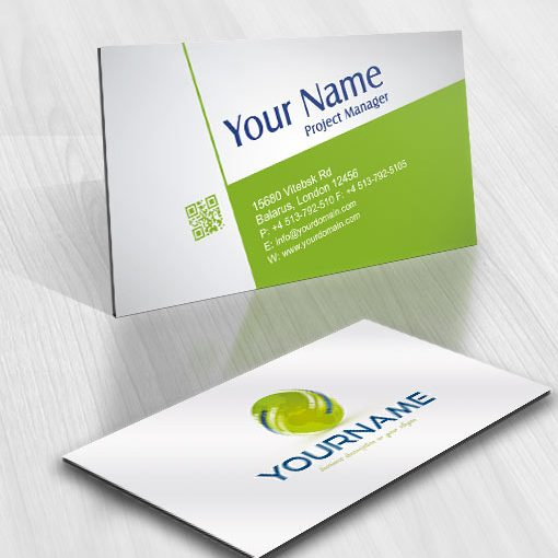 GLOBE Energy Logo Exclusive Design FREE Business Card