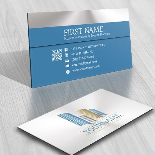 Abstract Real Estate Logo FREE Business Card