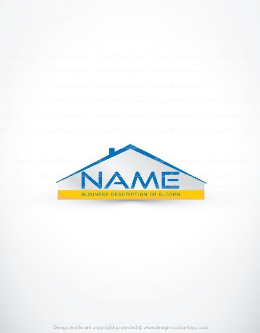 Exclusive design real estate house logo compatible free for House design company