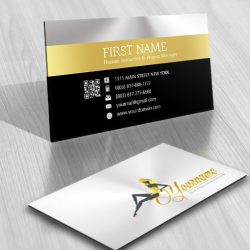 Sexy Woman Logo business card