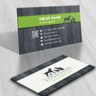 animal Pet Logo Design FREE Business Card