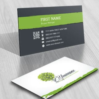 Digital Tech tree logo FREE Business Card