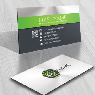 Design: Digital Tech logo business card