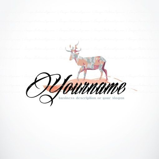 Ready made Logo design Reindeer