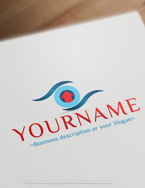 Search-Eye-house-logo-design