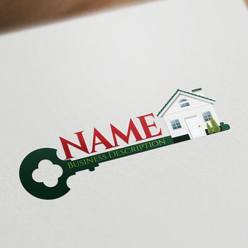house-key-Real-Estate-logos