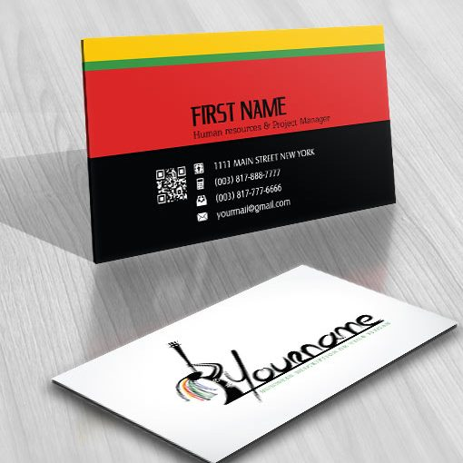 Exclusive Design Africa Logo FREE Business Card