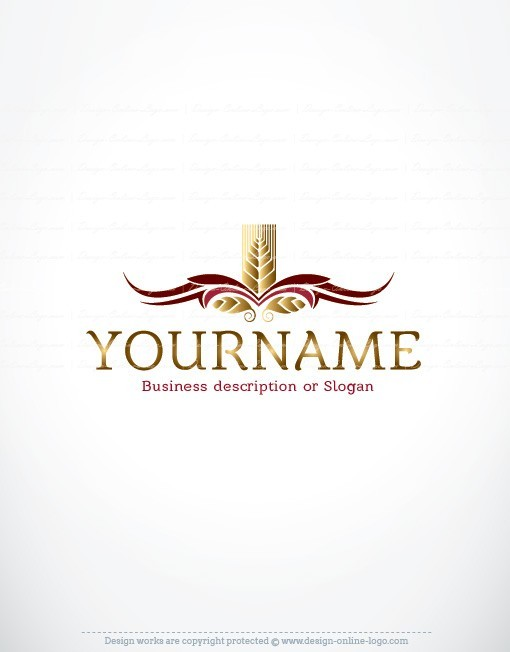 Wheat Bakery Logo design for sale