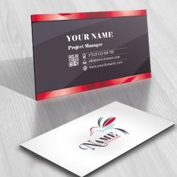 Humming bird Logo FREE Business Card