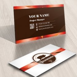 Pork Pig Logo FREE Business Card