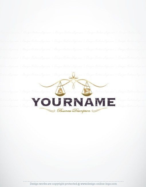 Design Luxury Law Firm logo