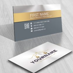 Law Firm logo FREE Business Card