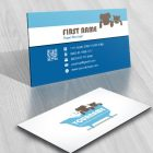 Pet wash Logo FREE Business Card