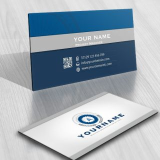 Industrial Design Logo FREE Business Card