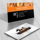 Fire Dragon Logo FREE Business Card