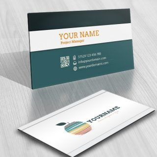 Tech Apple Logo FREE Business Card
